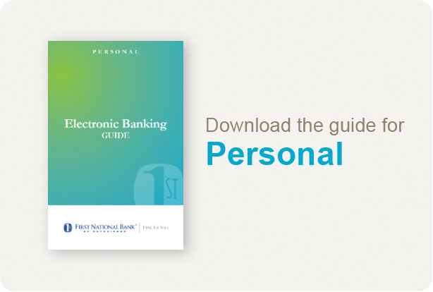 First National Bank of Hutchinson [Personal Banking - Banking